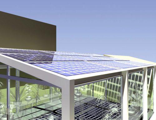 Gazebi fotovoltaici